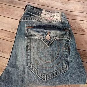 NWT True Religion Skinny Jeans Size 33